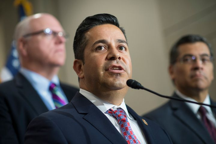 Rep. Ben Ray Lujan (D-N.M.), chairman of the Democratic Congressional Campaign Committee, touted the group's January fundrais