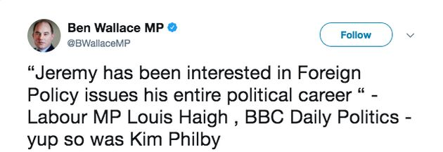 Tory MP Ben Bradley Deletes Jeremy Corbyn 'Communist Spies' Tweet After Legal Threat From Labour