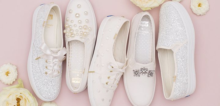 62e2050a91f2 Keds. Low-key brides will love this latest union. Keds and Kate Spade ...