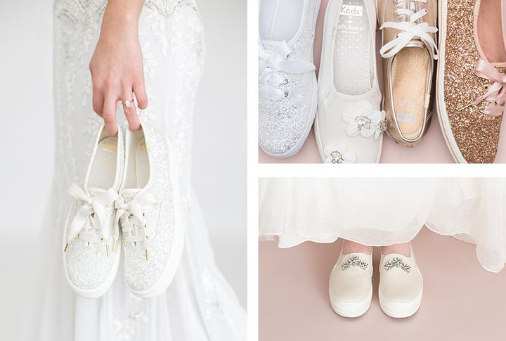 3b089338c46f Keds And Kate Spade s New Bridal Sneakers Are A Match Made In Heaven ...