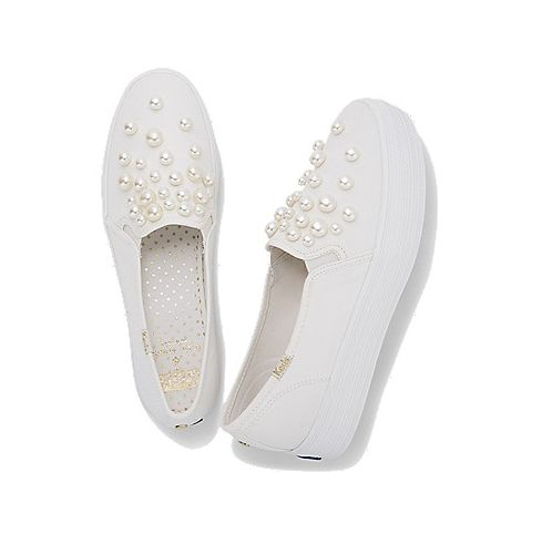 648fbdfdf437 Keds And Kate Spade s New Bridal Sneakers Are A Match Made In Heaven ...