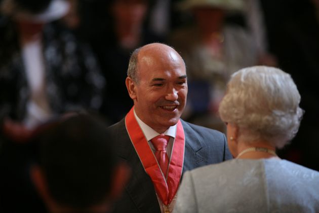 Mark Goldring was made a CBE in