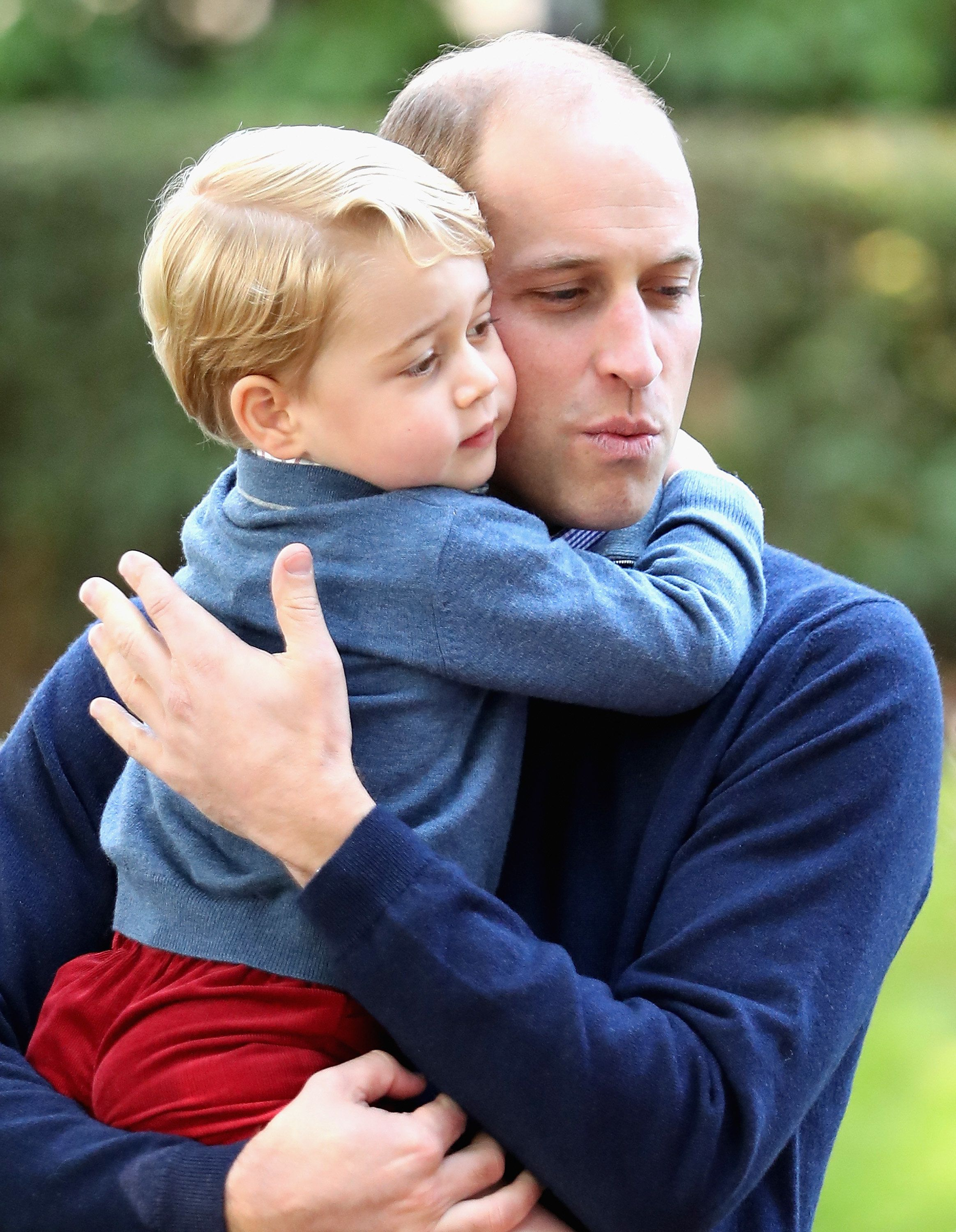 Duchess Of Cambridge Reveals Prince George Bonds With Duke Of Cambridge Over