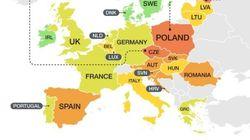 Ποιοι είναι οι πιο τοξικοί οδηγοί στην Ευρώπη και ποιοι οι πιο φιλικοί προς το