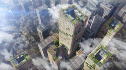 This Sustainable Skyscraper Is Made Almost Entirely Out Of