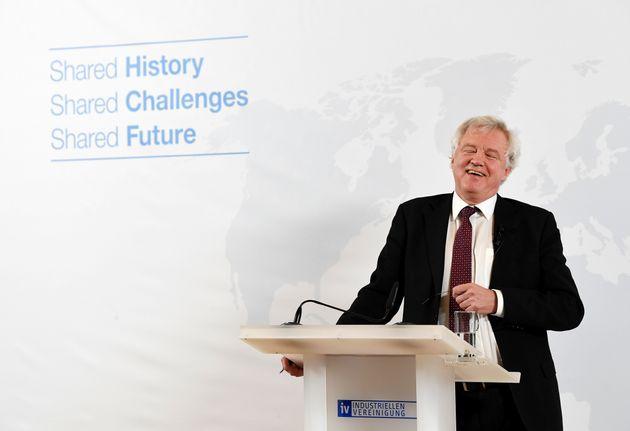 Brexit Secretary David Davis is like Messi, says