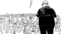 Το συγκλονιστικό σκίτσο για τον ήρωα της Φλόριντα που χρησιμοποίησε το σώμα του ως ασπίδα για να σώσει τους