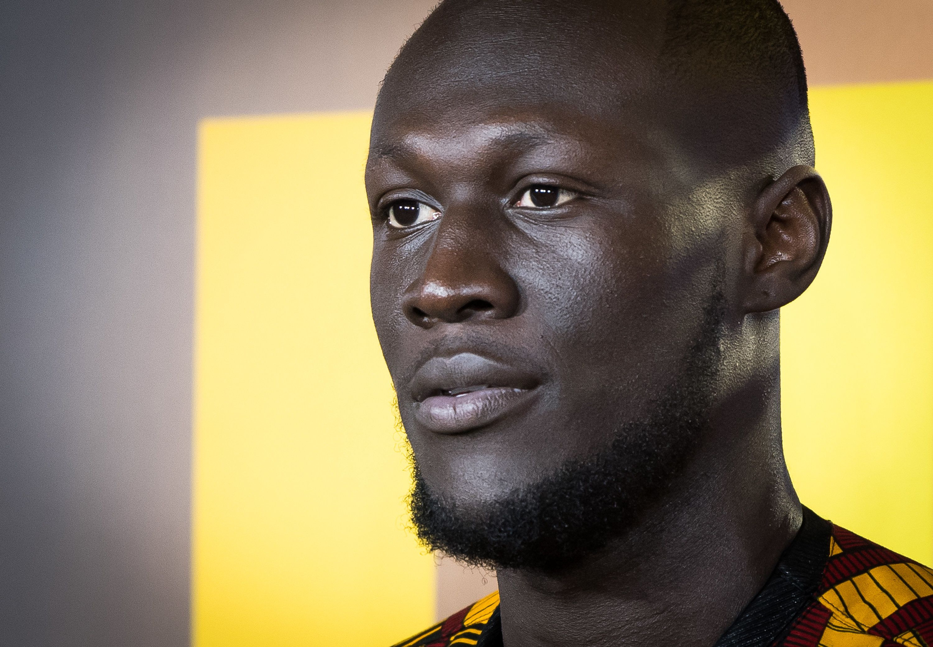 'Theresa May, where's the money for Grenfell?' asks Stormzy at Brit Awards
