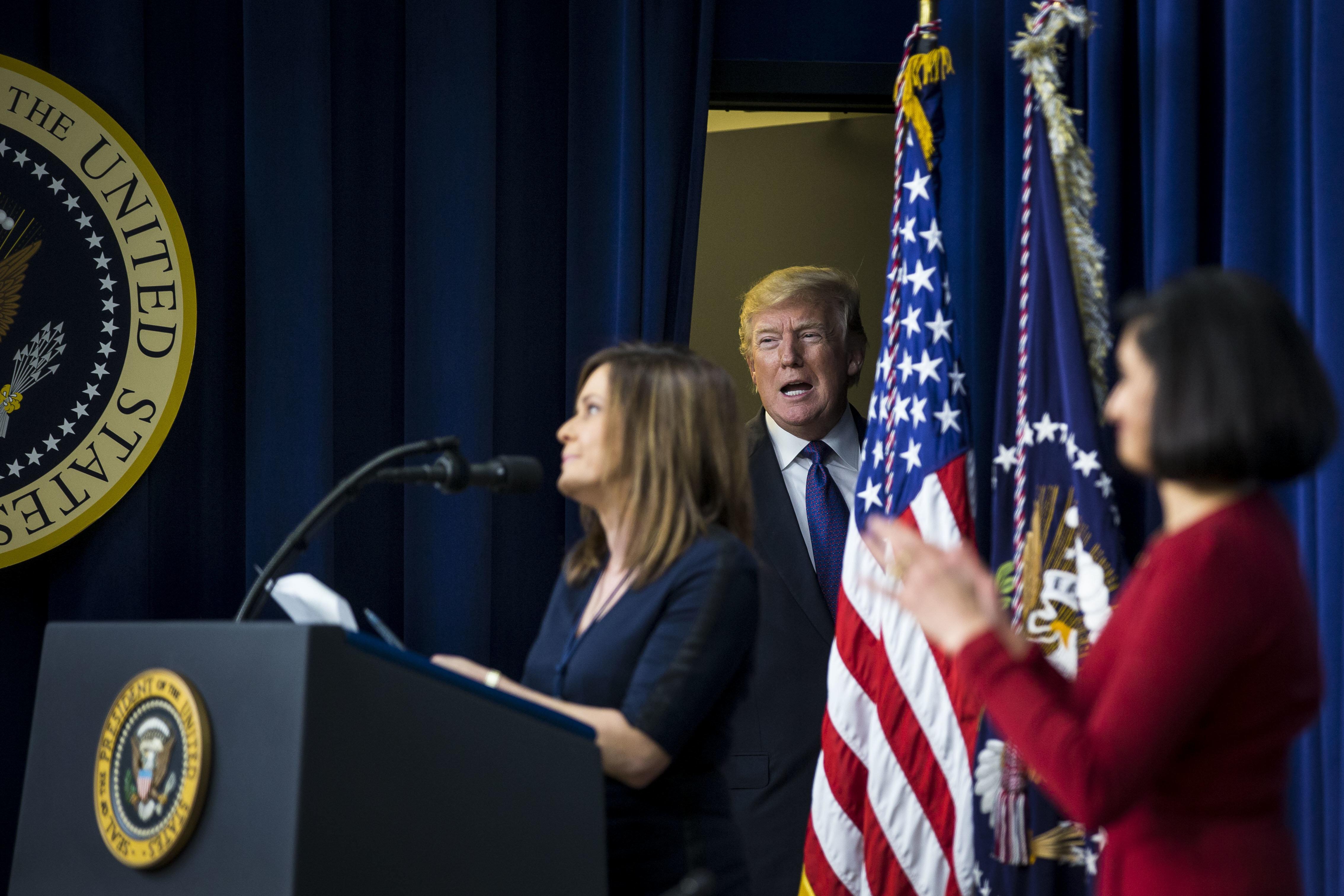 Warum US-Präsident Donald Trump Angst vor Frauen