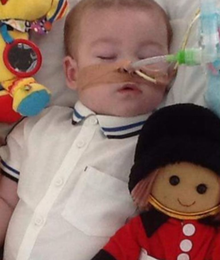 Toddler's parents wait for decision in life-support treatment fight