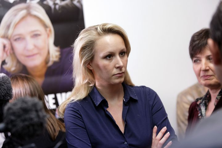 Marion Maréchal-Le Pen left the party following the election defeat in France. In February, she gave a speech at the C