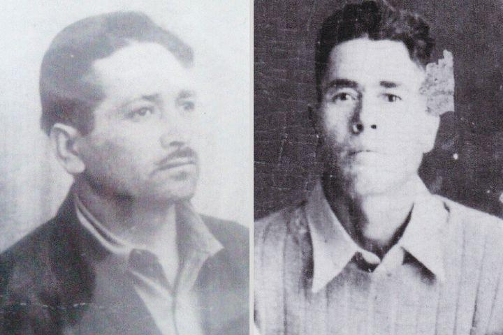 Ramón Paredes Ramírez (left),Guadalupe Ramírez Lara (right)