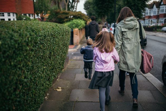 Nearly half of children in single parent families live in poverty, latest research shows. File