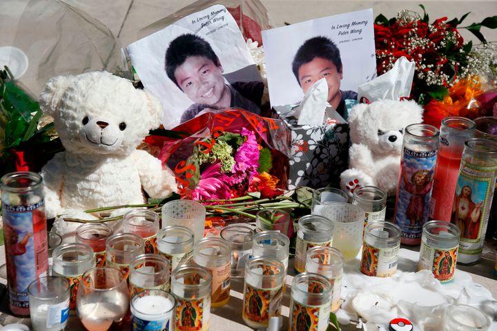 A memorial for Peter Wang.
