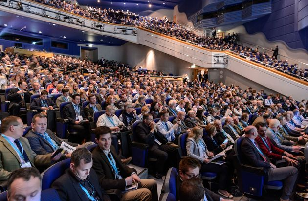 NFU delegates gave Gove's speech warm applause - but many are waiting for more