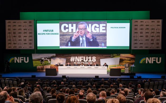 Michael Gove addressed the NFU conference for the first time since becoming Defra Secretary in June