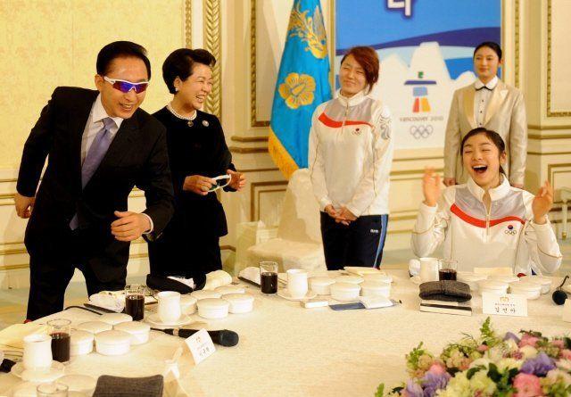 역대 대통령의 올림픽 축전을