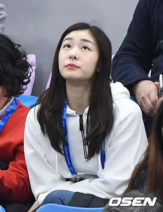 민유라는 김연아가 경기를 보러 온 게 너무