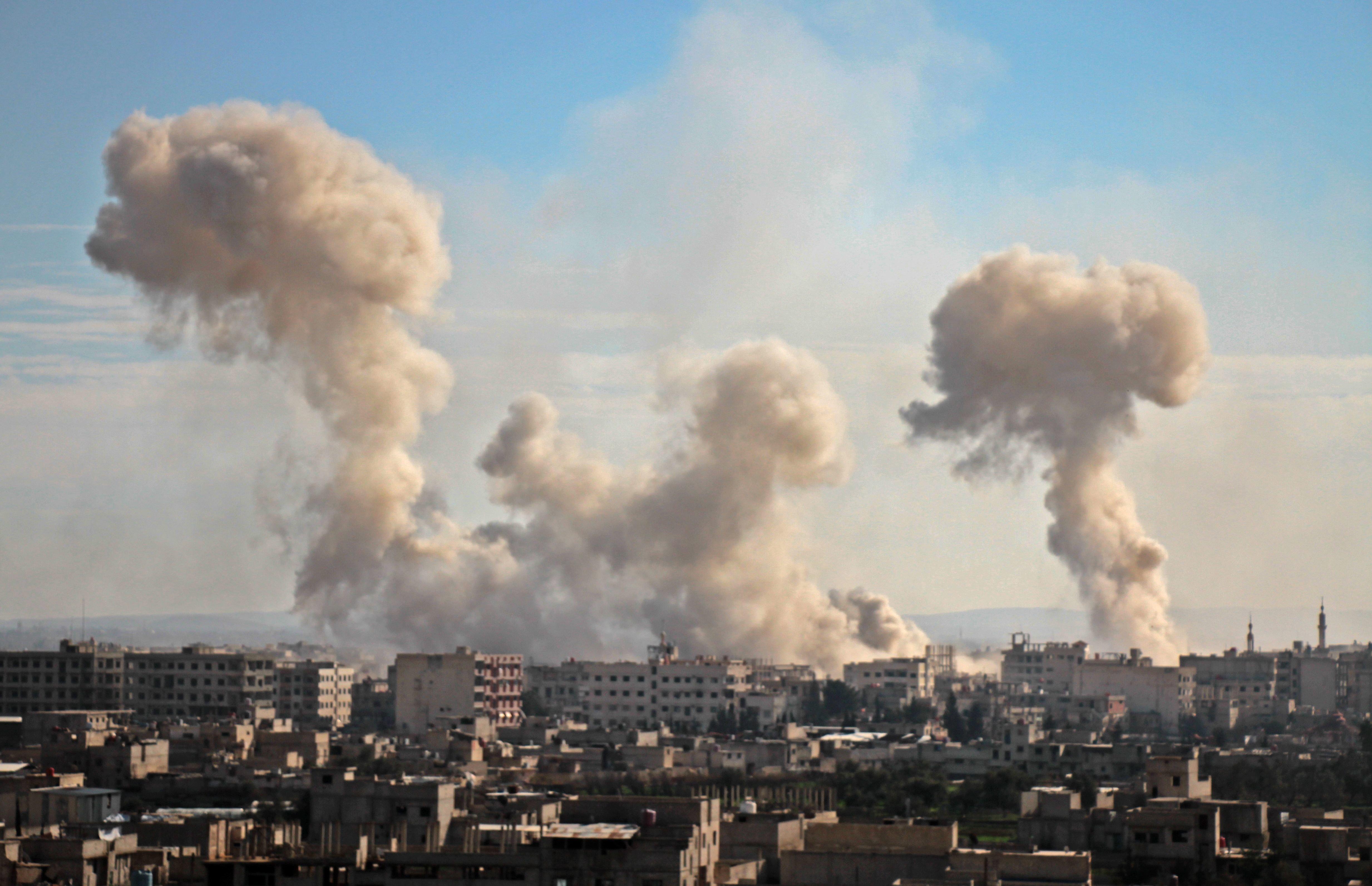 시리아 구타에 사흘째 '대학살'이 이어지고