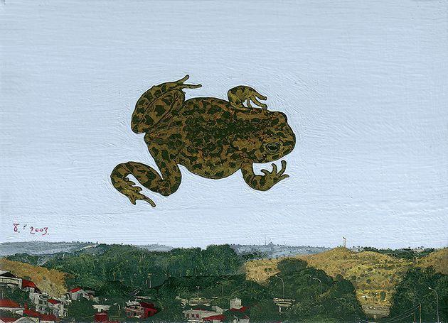 «Βάτραχος» (2003). Λάδι σε...