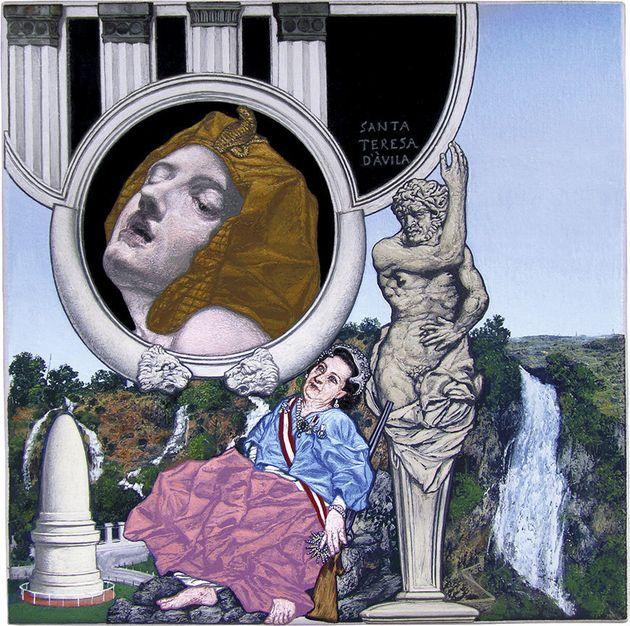 «Santa Teresa d'Avila» (2012). Λάδι σε καμβά,20...