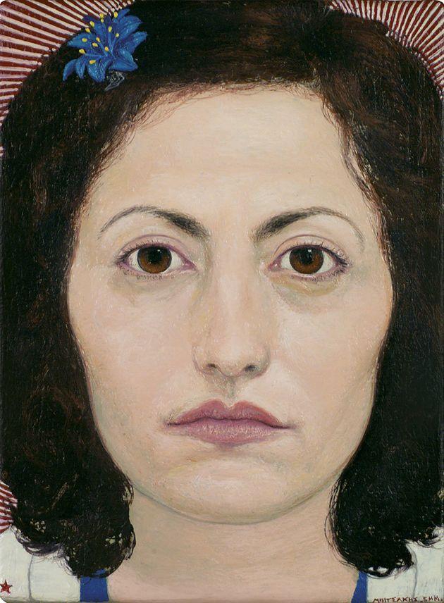 «Πορτρέτο» (2009). Λάδι σε...