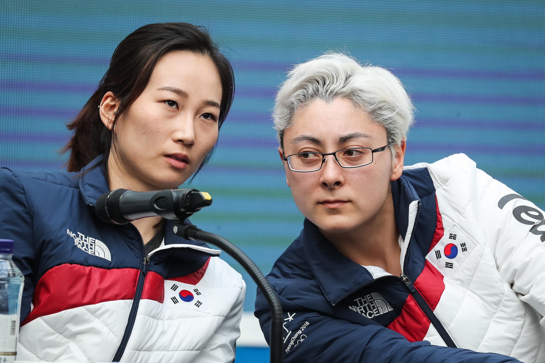 희수 그리핀이 북한 선수들과 통했던