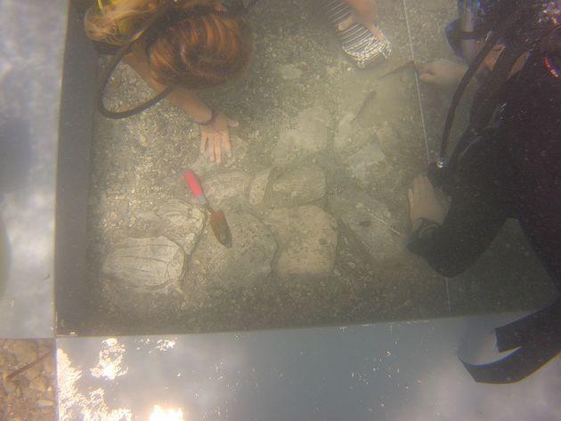 Νέα αρχαιολογικά ευρήματα στη θαλάσσια περιοχή της παραλίας Λαμπαγιαννά στην