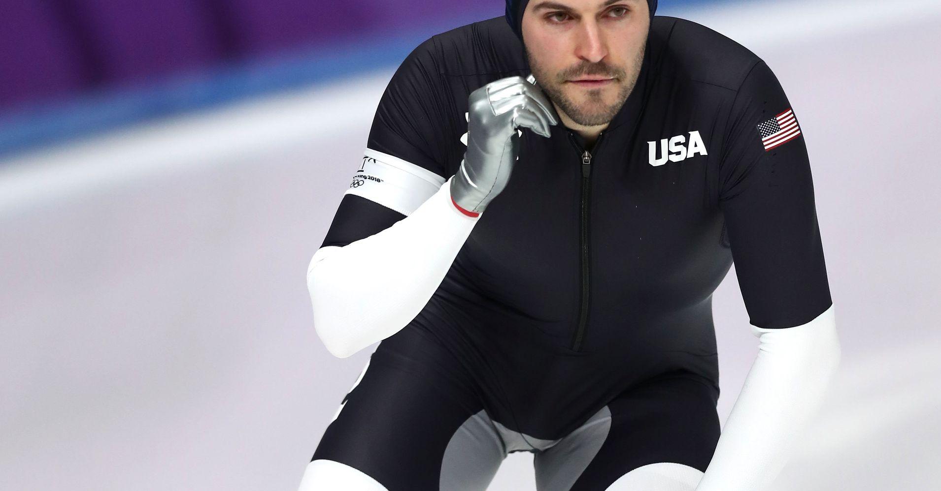 Team USAu0026#39;s u0026#39;Crotch Patchu0026#39; Speed Skating Uniforms Get Ribbed Online | HuffPost