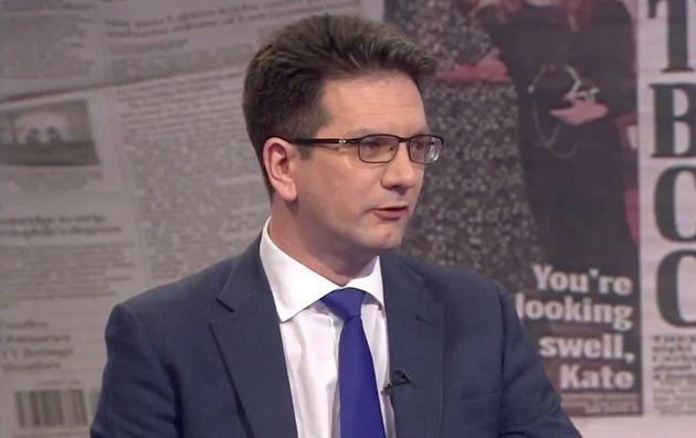 Brexit minister Steve Baker endures a grilling from Andrew