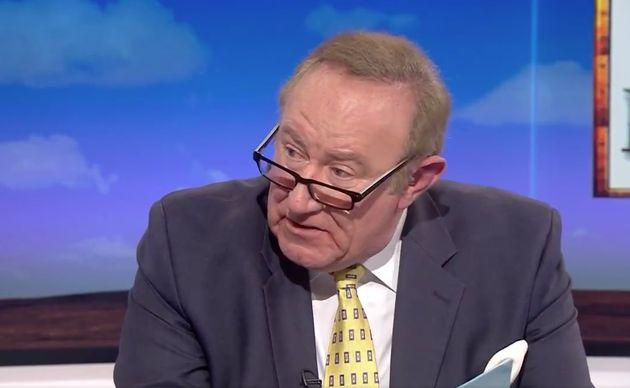 Andrew Neil eyeballs Steve Baker over claims Jeremy Corbyn was linked to a communist