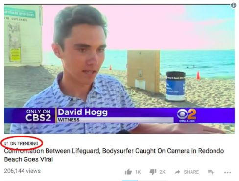 A Conspiracy Theory About A Stoneman Douglas Student Reaches No. 1 On