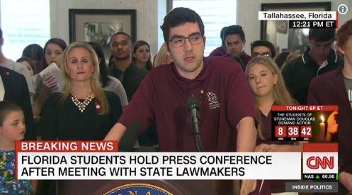 Florida Shooting Survivor Describes Being Mistaken For