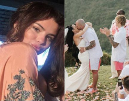 Justin Bieber Brought Selena Gomez To Jamaica For His Dad's