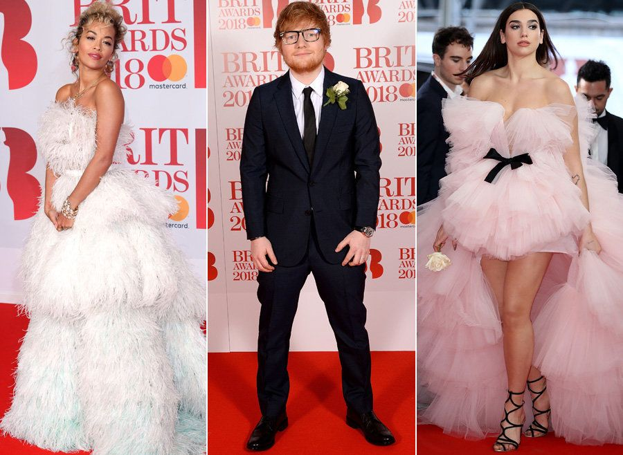 See All The Stars Hit The Red Carpet At This Year's Brit
