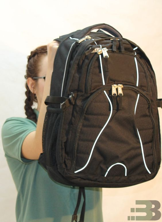 This backpack by Bullet Blockeris designed to shield peoplefromhandgun bullets.