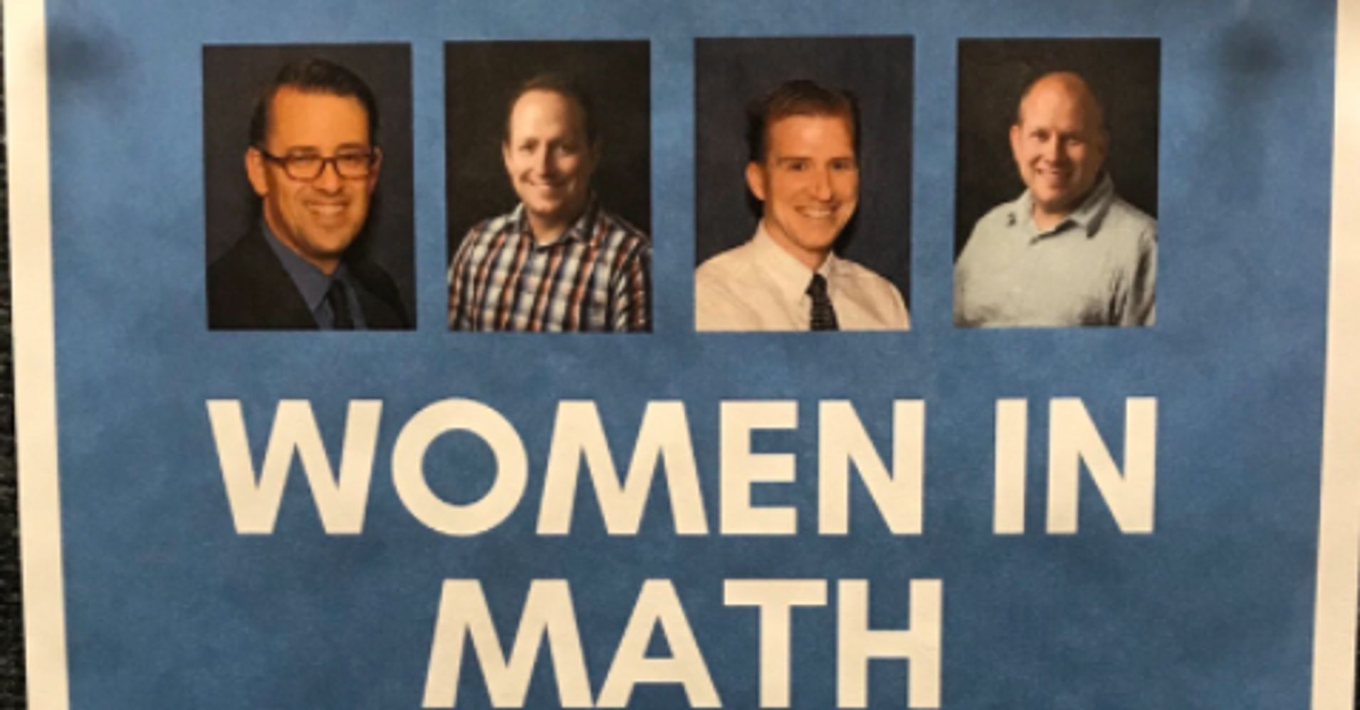 College's 'Women In Math' Panel Features Only Male Speakers
