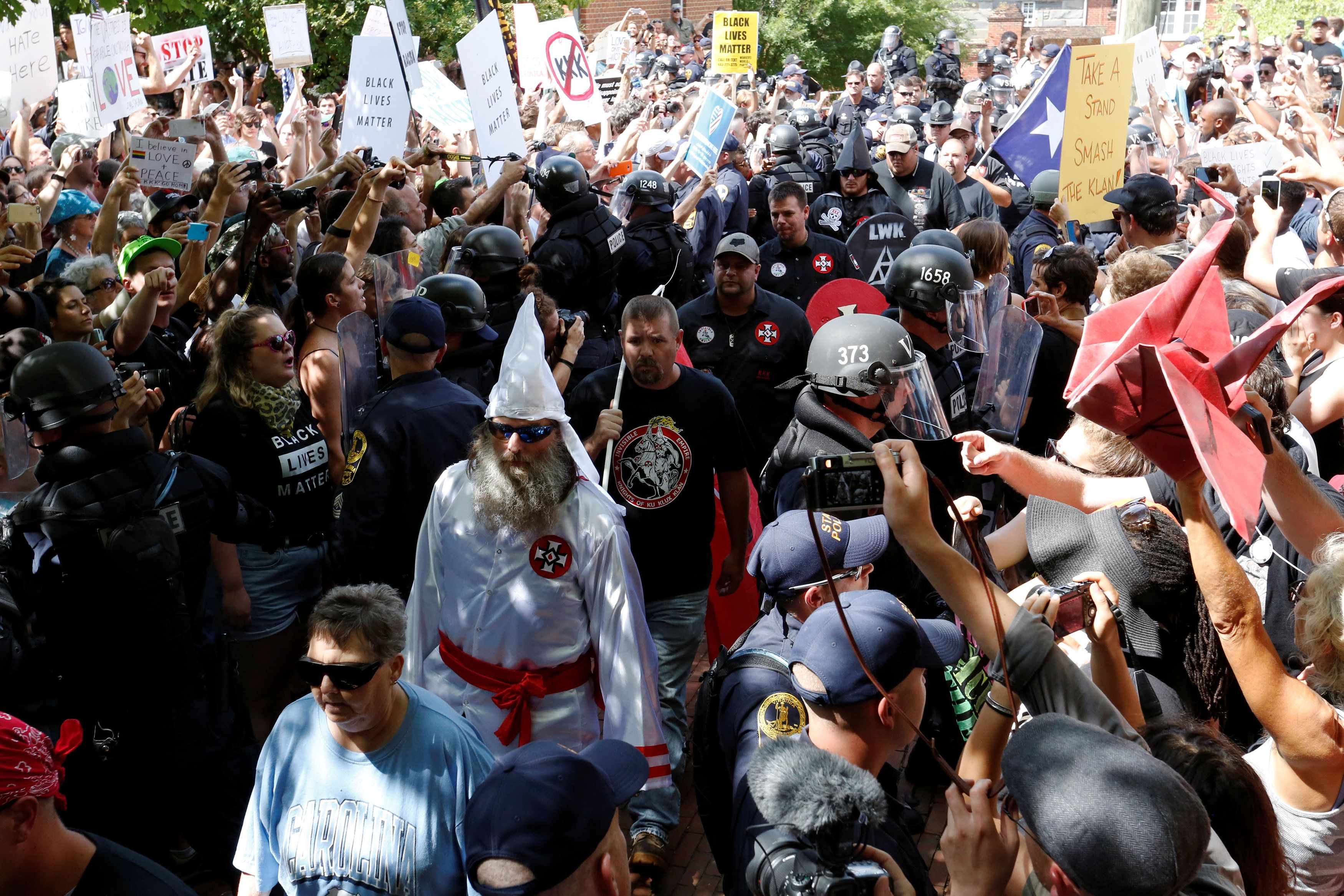 KKK chapters drop steeply despite surge in other hate groups