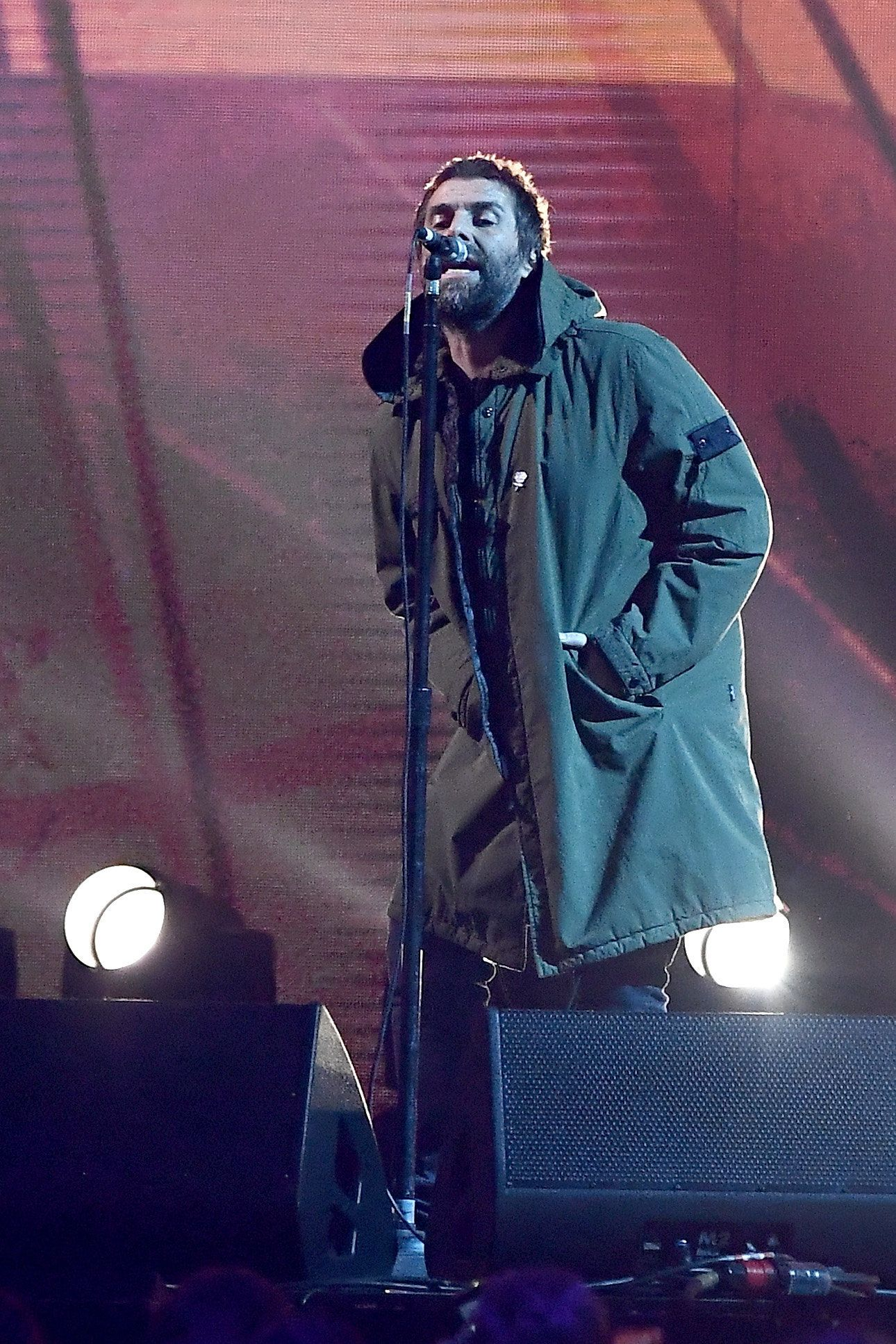 Liam Gallagher Performs Tribute To Manchester Bombing Victims In Emotional Brit Awards