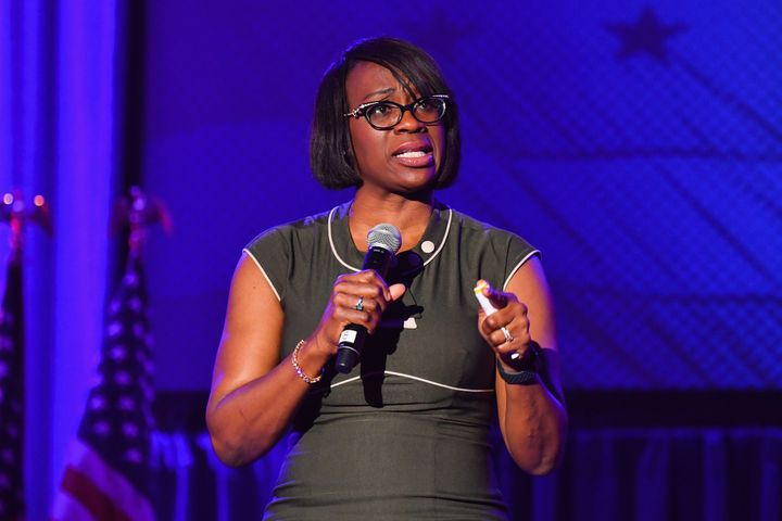 """Nina Turner, president of Our Revolution, is one of more than 70 progressive leaders who signed a pledge to fight for """"good jobs, sustainable prosperity and economic justice."""""""
