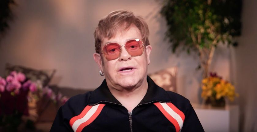 Elton John Struggles To Pronounce 'Dear Friend' Ed Sheeran's Name During Brits