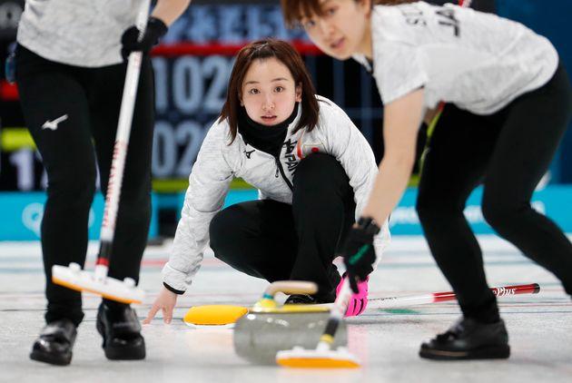 일본 여자 컬링팀 후지사와 사츠키가 한일전을 앞두고 밝힌
