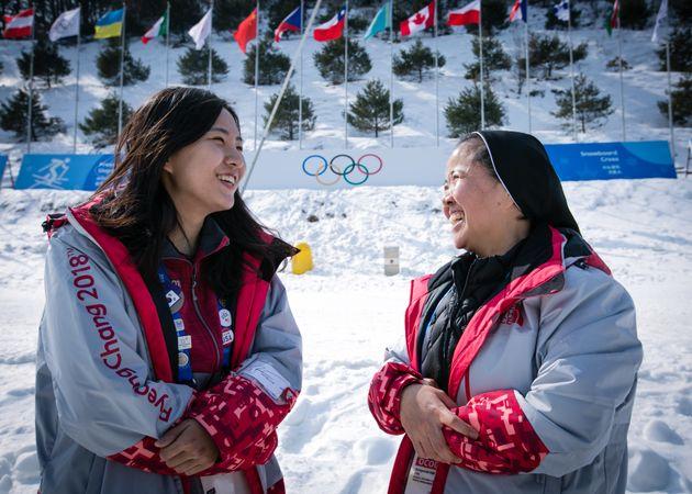 올림픽 사상 최초 '이것'을 이끄는 수녀가 건네는 중요한 이야기