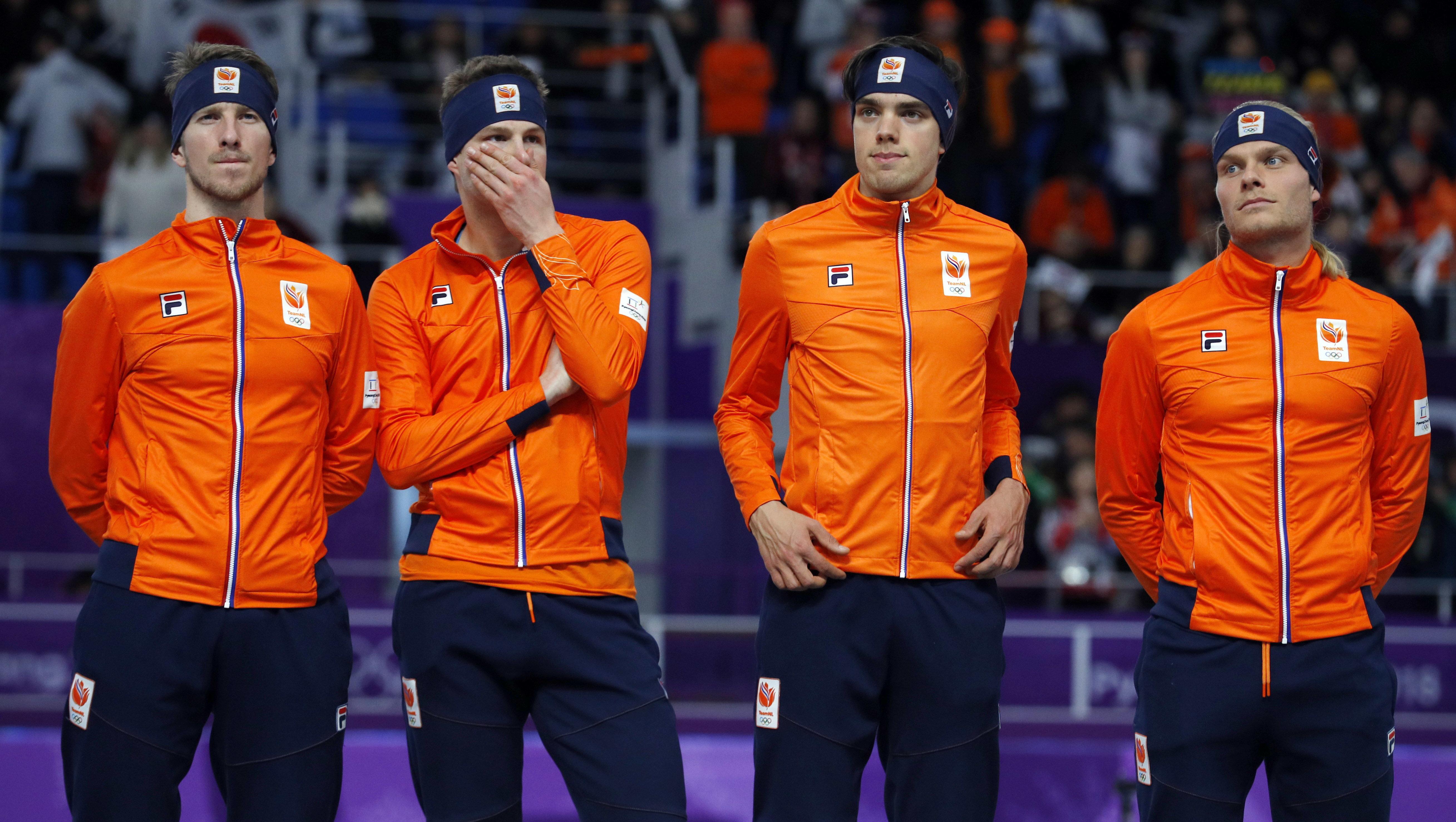 네덜란드 선수단이 연달아 한국인에게 사과하고