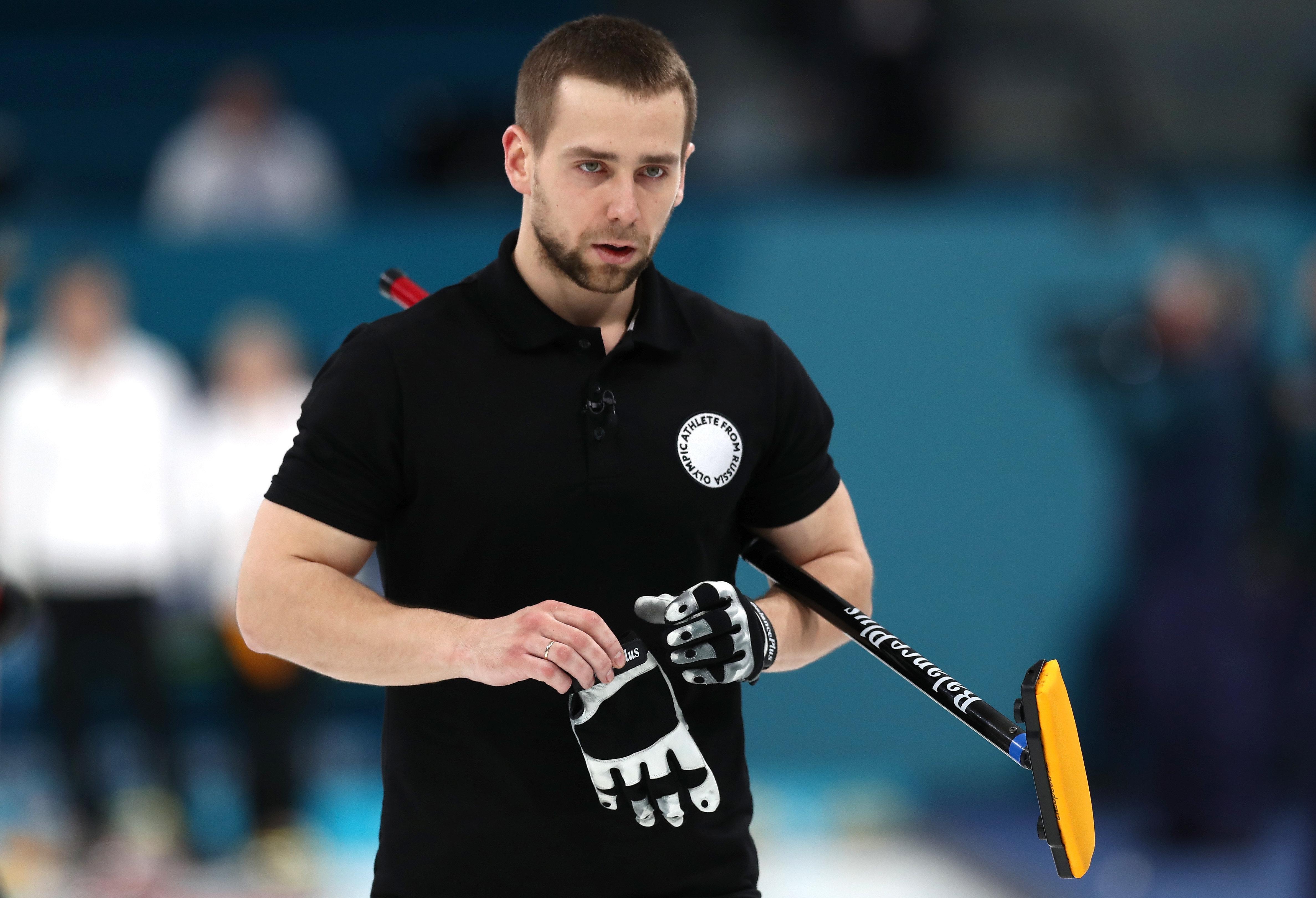 '도핑 적발' 러시아 컬링 선수가 동메달을