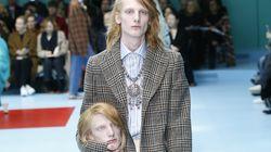 Και ένα κεφάλι για αξεσουάρ: Ο οίκος Gucci πάλι κέντρισε την προσοχή
