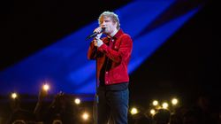 No, That Wasn't A Wedding Ring Ed Sheeran Was Wearing At The Brit