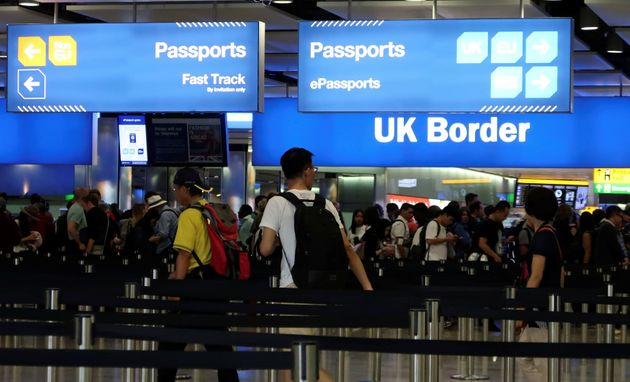 Net migration from the EU to the UK has fallen below 100,000 for the first time in almost five