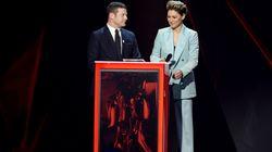 Emma Willis Takes Dig At Brits Presenter Jack Whitehall's Lack Of 'Female