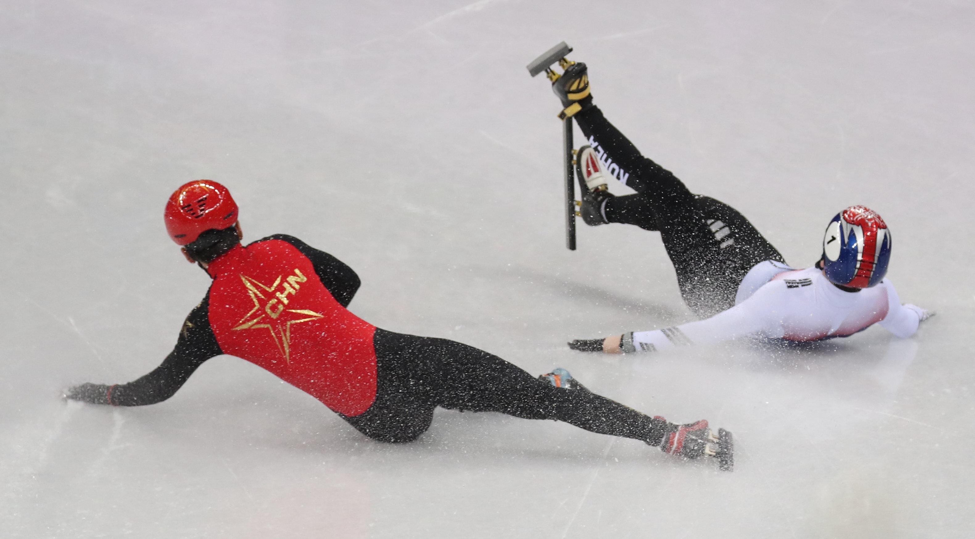 서이라가 쇼트트랙 500m 준준결승에서